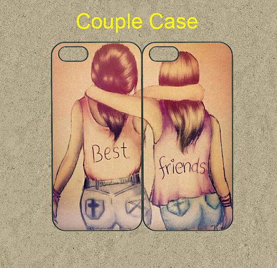 men wallet with chain Best Friends iphone 5C case iphone 5S case iphone 5 case cool iphone 5c case cute iphone 5s case iphone 4 case ipod 5 case ipod 4 case  by Ministyle360   28 99