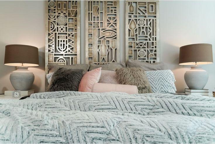 A Headboard of Art - 2nd bedroom palette