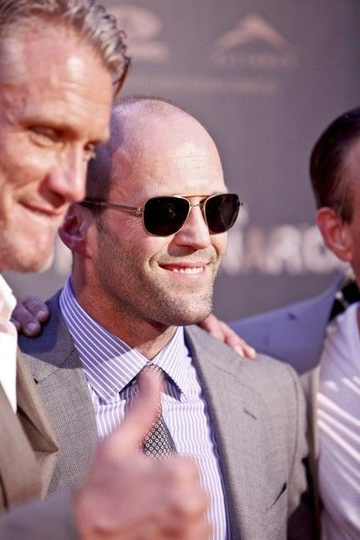cd635953950 Jason Statham Photos Photos - Celebs at the  Expendables 2  Premiere -  Zimbio