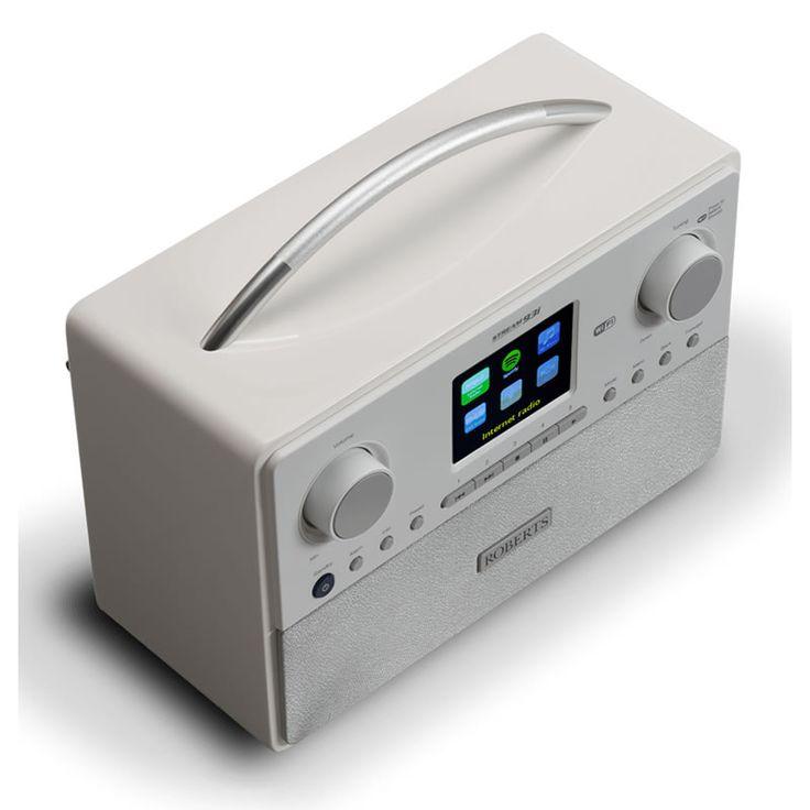 Roberts STREAM 93I WHITE DAB/DAB /FM/WiFi Internet Radio Colour Display White http://www.MightGet.com/january-2017-13/roberts-stream-93i-white.asp