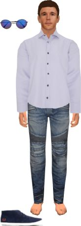 Make your Avatar, then tryon brand name clothes in Virtualoutfits.com