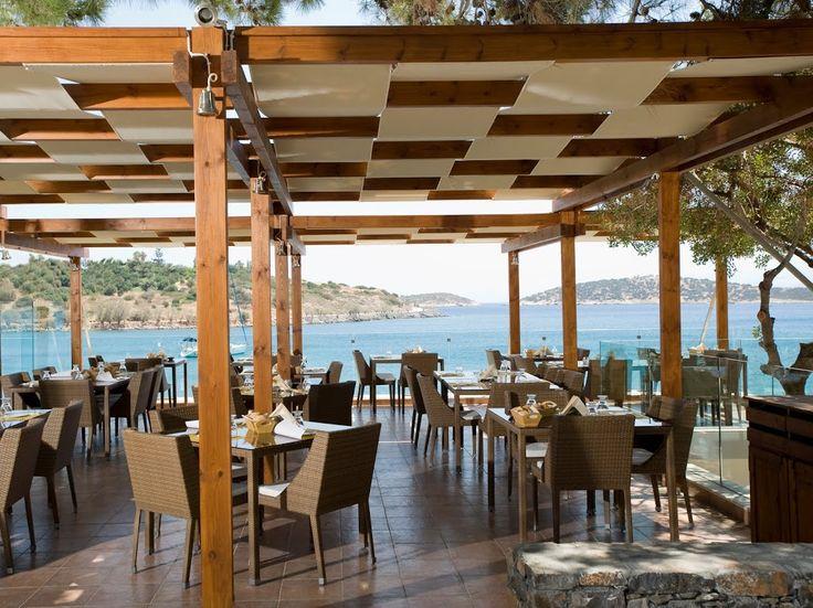 Terpsis Cretan Restaurant at Minos Beach Art!