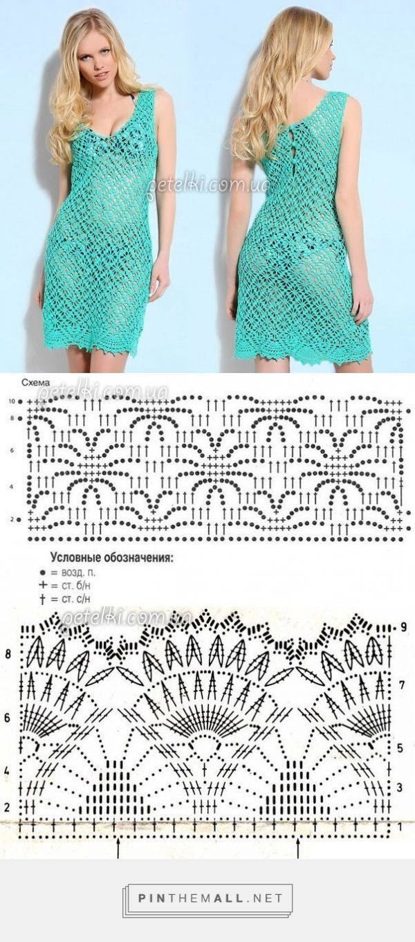 Grouped images picture Crochet Dress