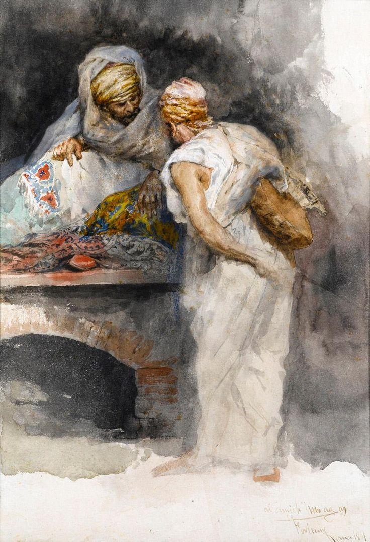El vendedor de tapices (1867), Mariano Fortuny y Marsal.