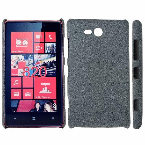 Feather Shell (Grå) Nokia Lumia 820 Deksel