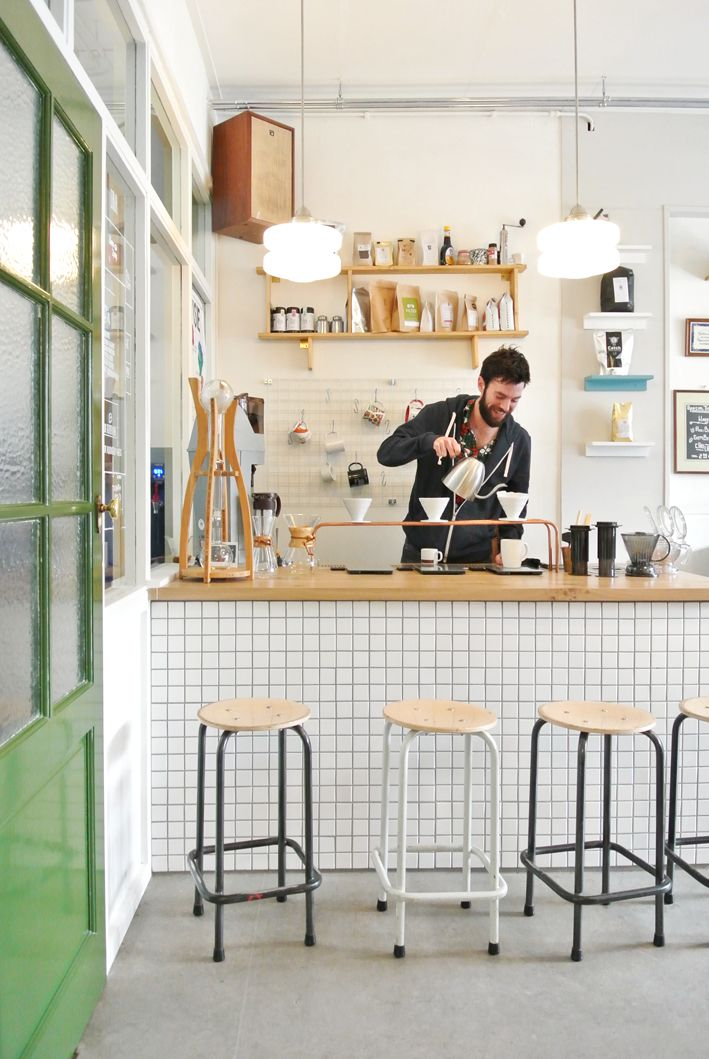 barrista station creates culture around food. could be slight separated from the kitchen.