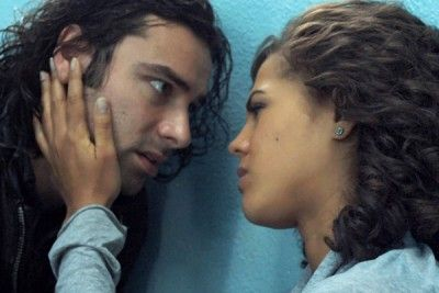 Still of Aidan Turner and Lenora Crichlow in Being Human