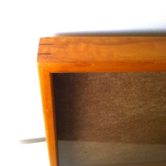 Extra Large Shadow Box Frame Display Case by CottageAndSprout $30