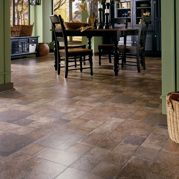 beautiful laminate flooring....Tuscan Stone Terra