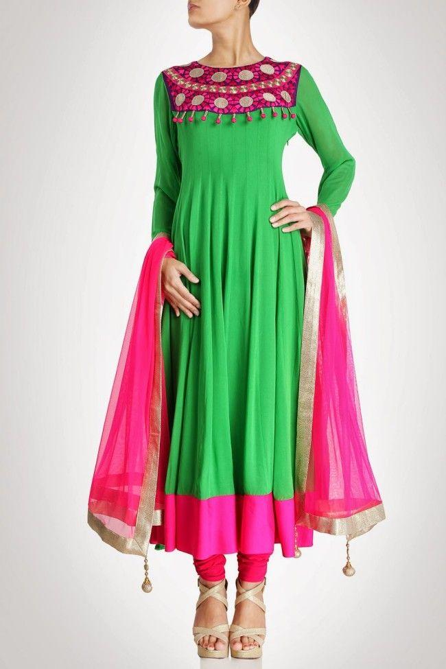 65 best Indian Anarkali Dress images on Pinterest | Indian anarkali ...