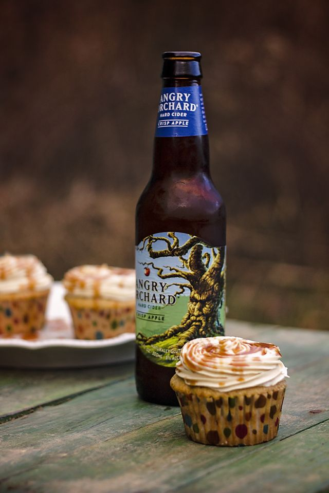 Hello Foodies! I am so excited to tell you about these awesome cupcakes! If you like apples and you like hard cider you will love these Angry Orchard Cupcakes! My husband and I don't drink of…