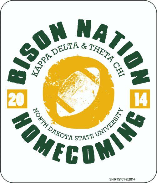 #shirts101 #football #bisonnation #NDSU #homecoming #kappadelta #thetachi