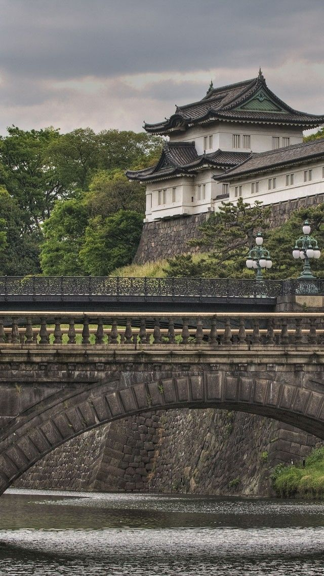 Tokyo Imperial Palace is a perfect place to stroll around or if you feel like you need to go for a job its a great running loop!