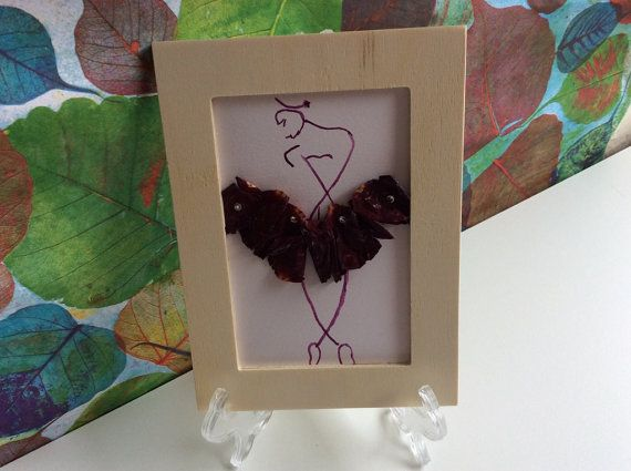Ballerina painting watercolour ballerina art by PetalcraftArt