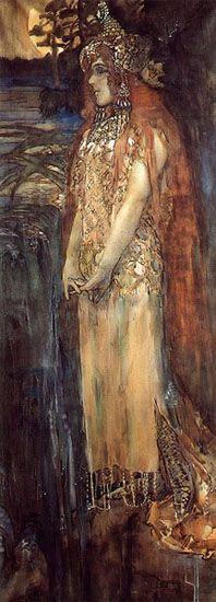 The Sea Princess: Mikhail Vrubel (1856-1910)