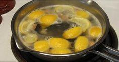 Uvarte citróny a pite výslednú tekutinu ihneď po zobudení Budete šokovaní jej účinkami