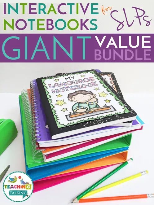 This speech therapy resource is full of printable worksheets and interactive notebooks you can use across elementary grade levels. You get materials covering articulation, language skills, preschool topics, seasonal topics (fall, spring, and summer), social skills, apraxia, phonology, and more. You'll receive flip books, notebooks, printables, activities, lesson plans, tips, and much more. Perfect for SLP teachers, special education educators, and others working to increase skills for kids.