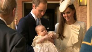 A Cute Angle: The Christening of Prince George of Cambridge