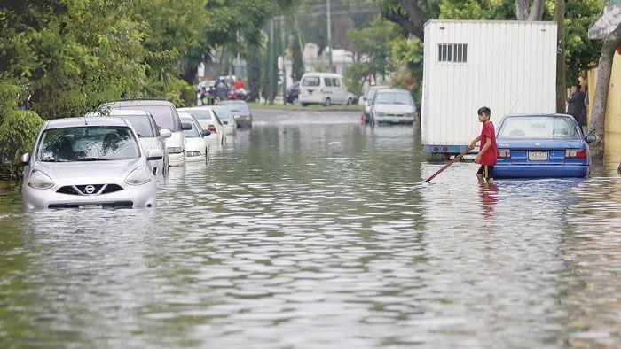 Lluvias inundaron 28 colonias; Pensador Mexicano la más afectada - La Crónica de Hoy