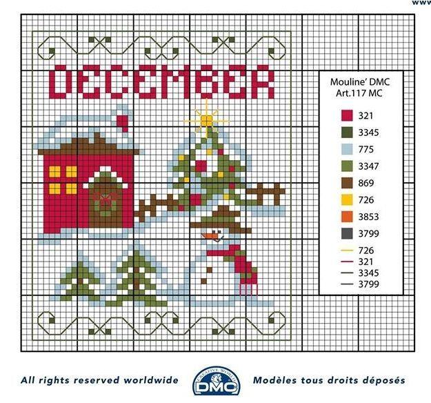schema+punto+croce+mesi+dell%27anno-+dicembre.jpg 625×584 pixel