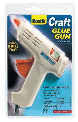 4 x Bostik Cool Melt Craft adhesive glue gun with 8 free all purpose glue sticks 80718