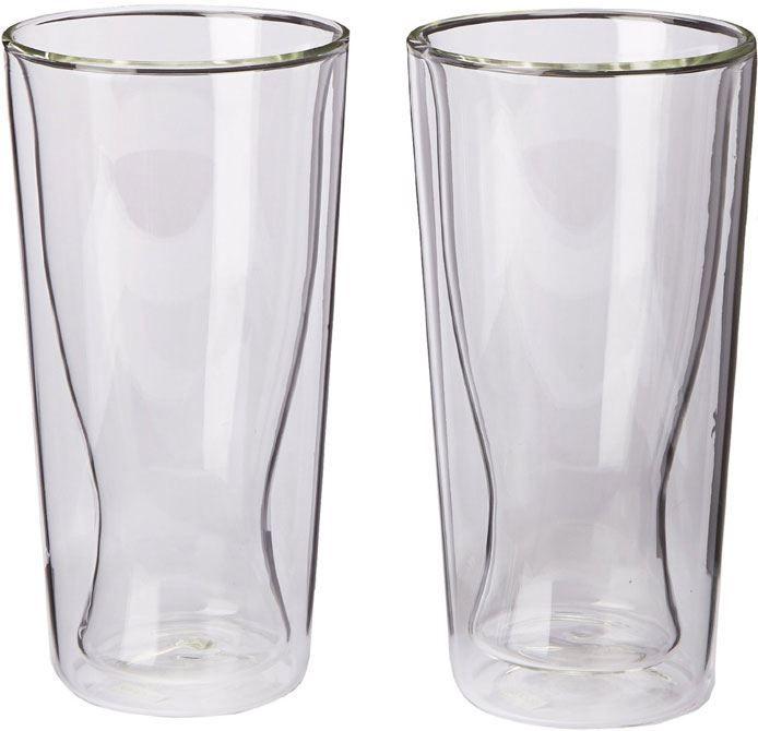 Bodum Skal set 2 glazen 035L  Bodum SKÅL set 2 glazen van 035 liter (handgemaakt) De Skal dubbelwandige glazen van Bodum houden warme dranken warm zonder dat je je vingers verbrand en koude dranken koud zonder condensatie. Ditmaakt de glazen erg geschikt voor verschillende dranken als cocktails en warme choco. Hierdoor hoef je maar één soort glas aan te schaffen voor thuis!De glazen zijn individueel mond-geblazen door deskundige ambachtslieden. De Bodum Skal 10594-10 heeft een gepatenteerde…
