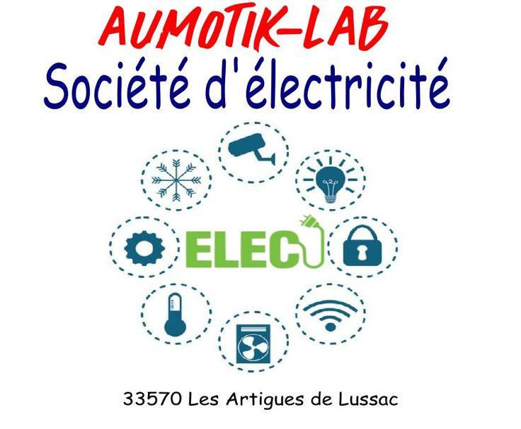 Aumotik-Lab est une entreprise d'électricité sur Libourne & Coutras: installation et rénovation électrique - Automatisme- Domotique KNX - Z.E. ready