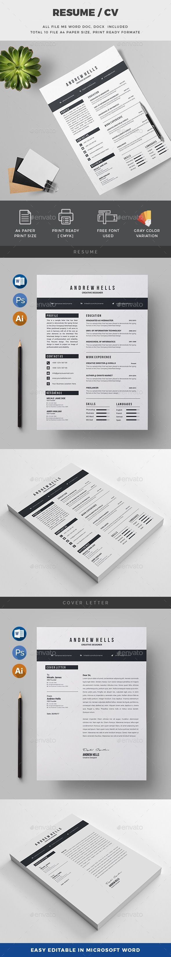 Resume 837 best Rsum images on Pinterest
