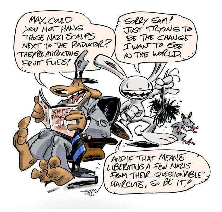 Steve Purcell is a national treasure.