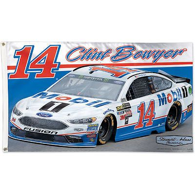 Racing-NASCAR 46156: Wincraft Clint Bowyer Mobil 3 X 5 Deluxe Flag - Nascar -> BUY IT NOW ONLY: $33.99 on eBay!