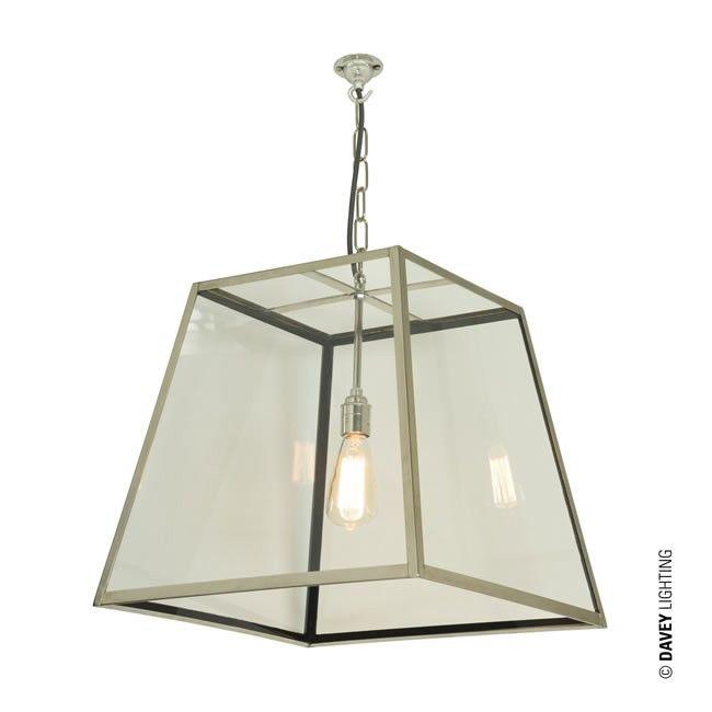 Large Quad Pendant Light 7636 L PE Nickel By Davey Lighting Lanternpendantlight