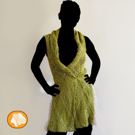 Summer pistachio coat by Ullvuna on Etsy, $120.00