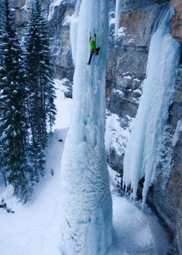 The Fang, Frozen Waterfall, Vail, Colorado