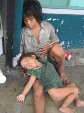 Two street children in Cebu City...It hurts...