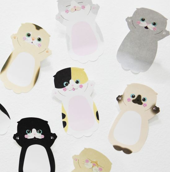 Baby Cat Sticky Note v2