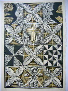 Title: Lapita - Kone Artist: Fatu Feu'u Gallery: Salamander Gallery