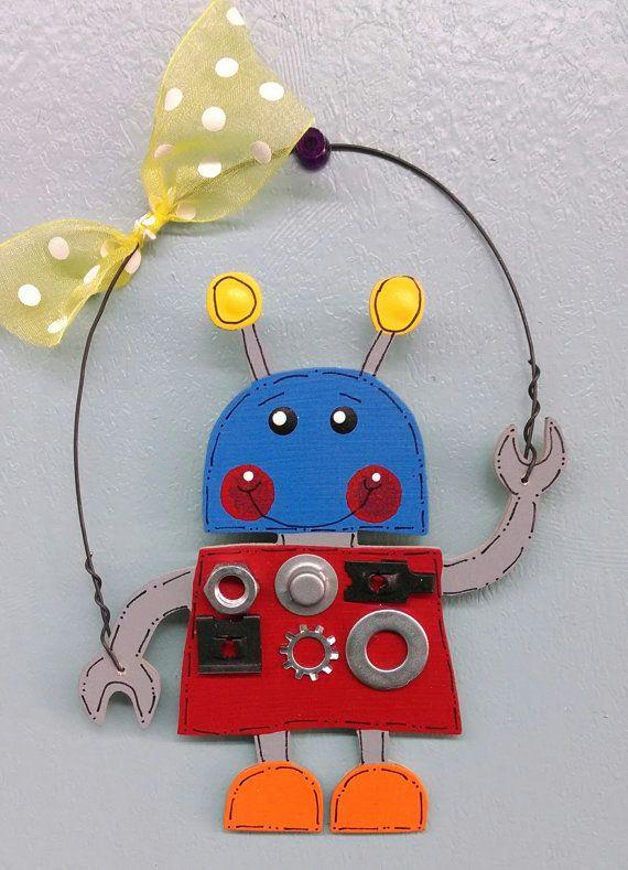 Robot Boy Ornament