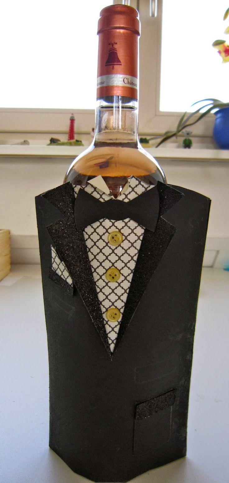 H-R CREATIVE DESIGN: een leuke verpakking voor een fles wijn