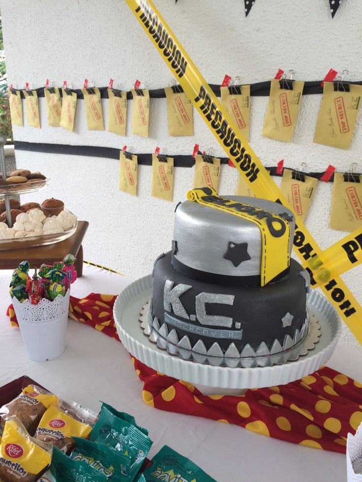 Kc Undercover Party Ideas Cake Decor And Favors Party