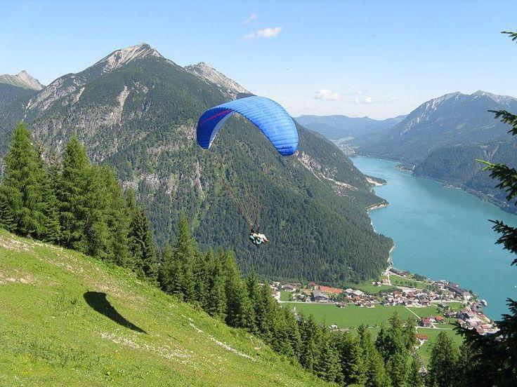 Paragliding at Achensee - Austria