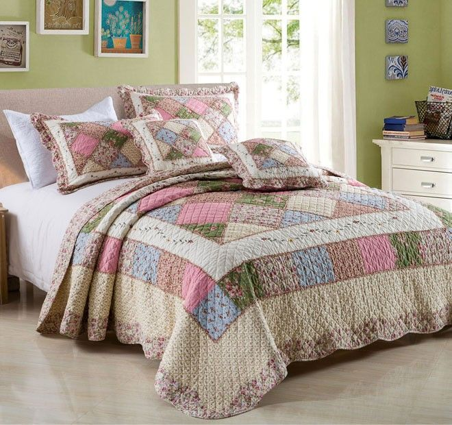 Tuscany Queen to King Bed Coverlet Set Range Pink - Shop