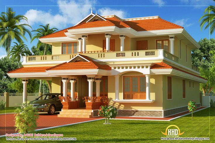 tasteful kerala style traditional house.jpg (1152×768)