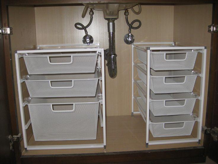 bathroom+organizing | Under the sink organization – pleia2's blog