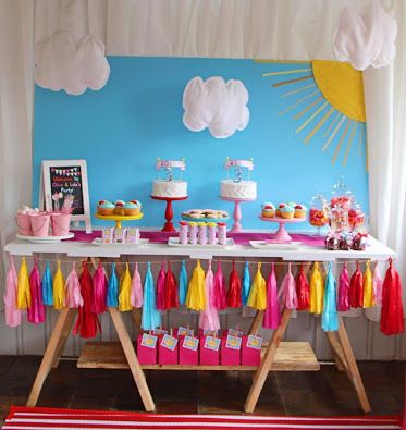 peppa pig party decoration - Buscar con Google