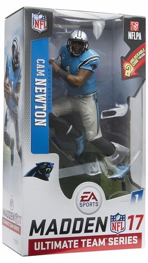 Cam Newton (Carolina Panthers) EA Sports Madden NFL 17 Ultimate Team Series 1 McFarlane