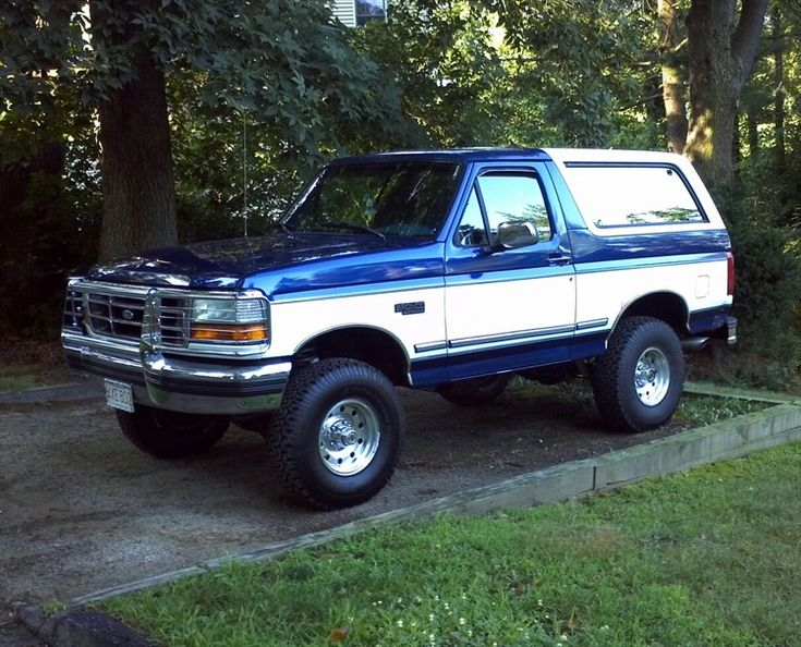 1996 ford bronco for sale blue | 1996 Ford Bronco Sport Utility 2D - Melrose, owned by Boss Bronco96 ...