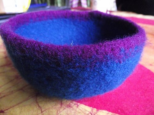 8 Best Knitting Felted Images On Pinterest Knitting Stitches
