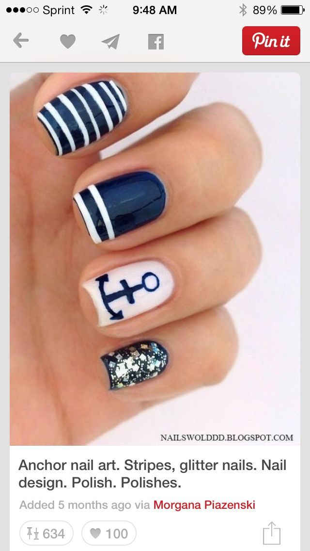 Cruise nails design
