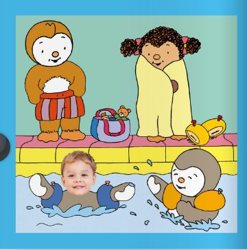 Mercredi tous la piscine t 39 choupi et jules font la for Choupi a la piscine