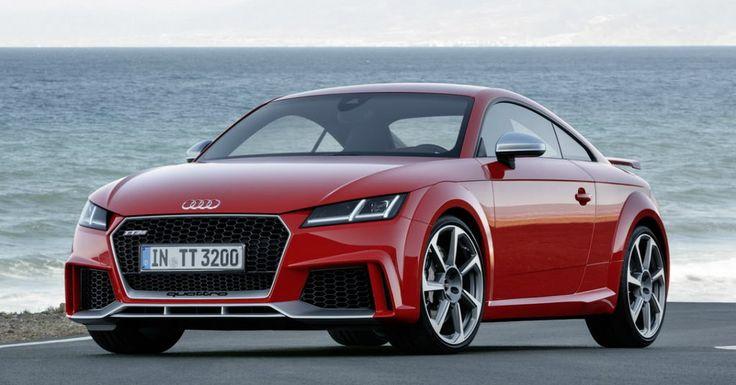 Plimbarile de weekend pot deveni mai placute la finalul anului 2016 datorita modelului 2017 al lui Audi TT RS. Bolidul iti pune la dispozitie 400 de cai putere, numai buni pentru drumurile libere. #Audi #TTRS #auto